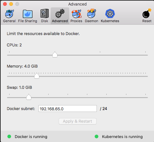 Installing Docker Kubernetes | magda